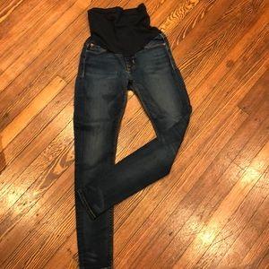 Hudson Skinny Maternity Jeans